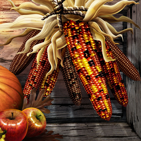Free Thanksgiving Wallpapers for iPad: Bumper Harvest 2