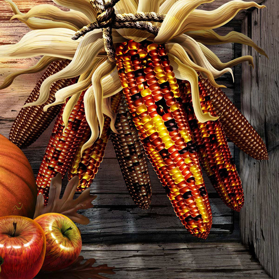 Free Thanksgiving Wallpapers for iPad: Bumper Harvest 7