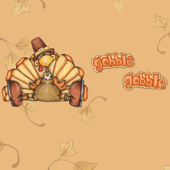 Free Thanksgiving Wallpapers for iPad: Turkey 18