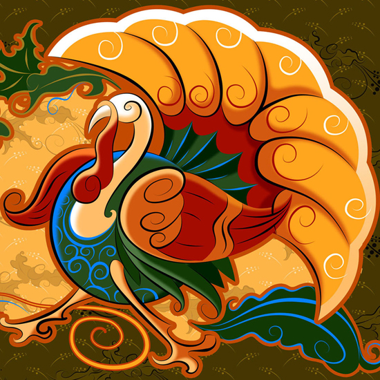 Free Thanksgiving Wallpapers for iPad: Turkey 20
